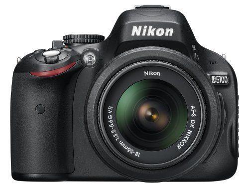Nikon D5100 16.2MP CMOS Digital SLR Camera with 18-55mm f/3.5-5.6 AF-S DX VR Nikkor Zoom Lens: http://www.amazon.com/Nikon-16-2MP-Digital-18-55mm-3-5-5-6/dp/B004V4IWKG/?tag=topprocom-20