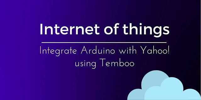 Get weather information using Arduino and Temboo. Control remote RGB Led using temperature