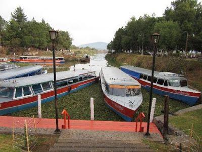 Muelle de San Pedrito en Pátzcuaro, Michoacán