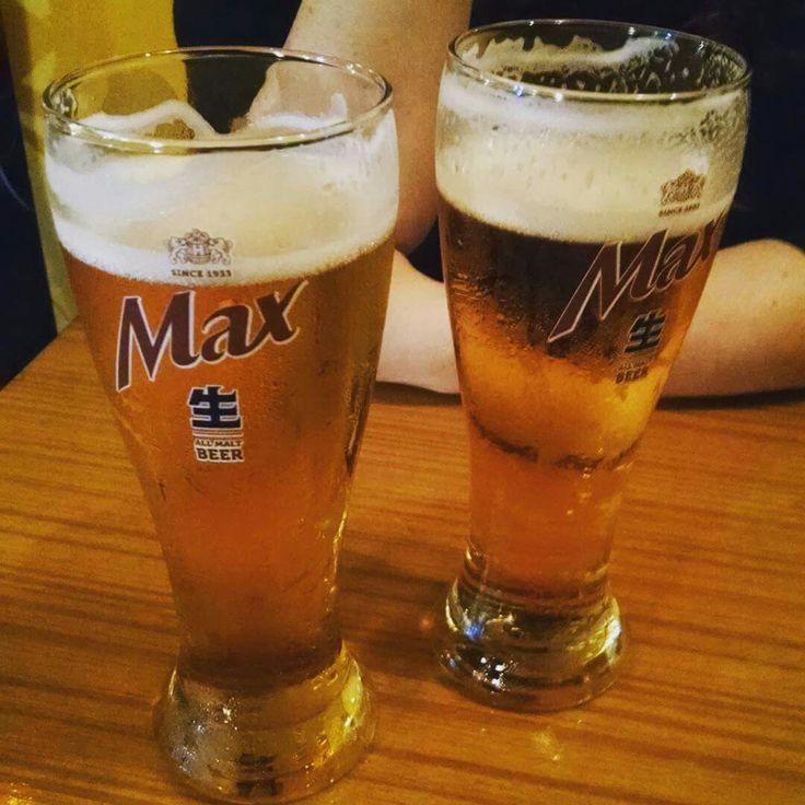 Cerveza elaborada en Corea del Sur, la espuma tiene un sabor muy parecido a la crema, realmente una delicia.