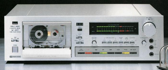 SANSUI SC-D77  1981