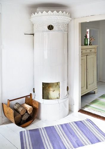 Gustavian Swedish Decorating Former Bakery in Sweden  Photography by Trine Bukh From Inspiring Interiors Blog