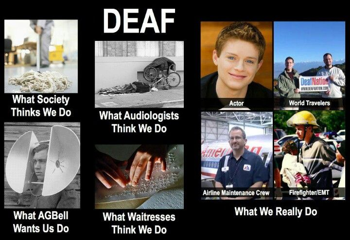 Deaf culture for the day!! :)