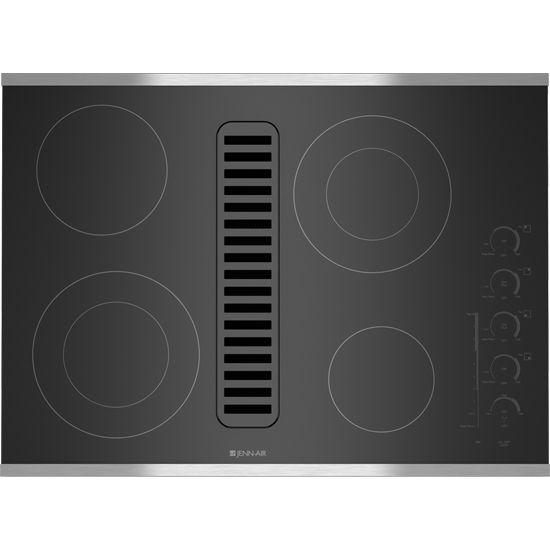 Jenn Air 30 Downdraft Electric Cooktop ~ Jenn air electric radiant downdraft cooktop with
