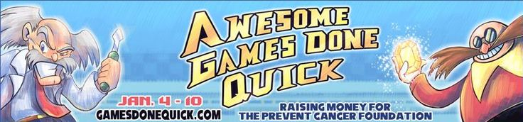 Awesome Games Done Quick Returns With SEGA Hits For Your Donations - Speed Demos Archive and Speed Runs Live are back with another helping of speed runs with Awesome Games Done Quick 2015. Continuing to benefit the Prevent Cancer Foundation with donation incentives, bid wars and other special features. You'll find a heavy representation of Sonic at this... http://www.sonicretro.org/2015/01/awesome-games-done-quick-returns-with-sega-hits-for-your-donations/