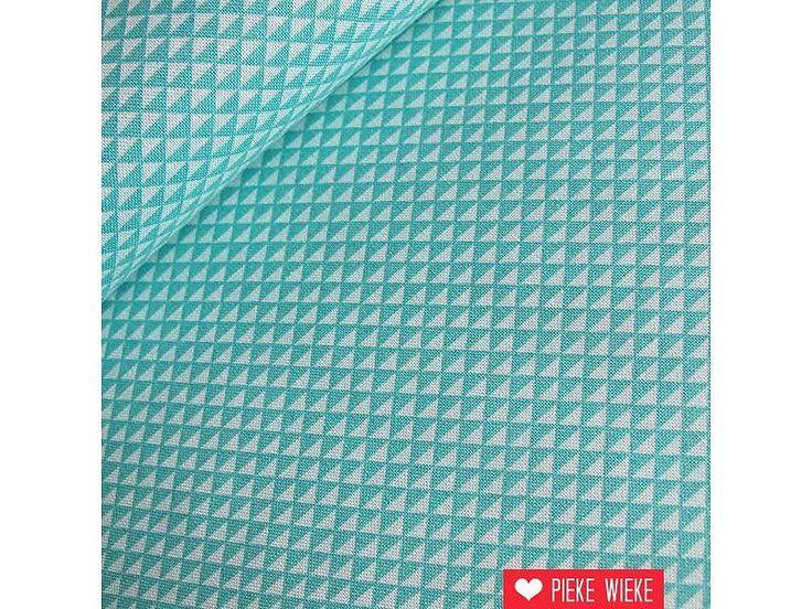 Windham Fabrics Mini triangles mint