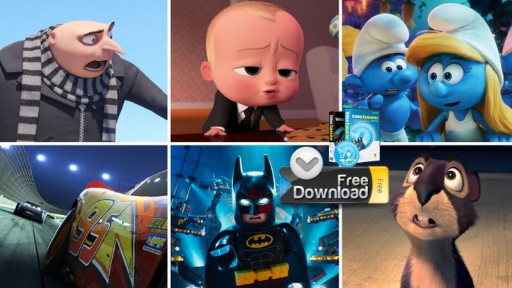 Have some famous or classic animated films produced by DreamWorks and WaltDisney? Below we collect the best and top animated movies for kids and provide you an ultimate way to free download favorite Disney/Dreamworks animation movies online.