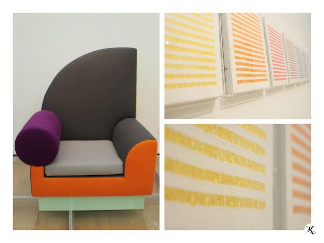 Knihařka - Stedelijk museum - furniture, embroidery