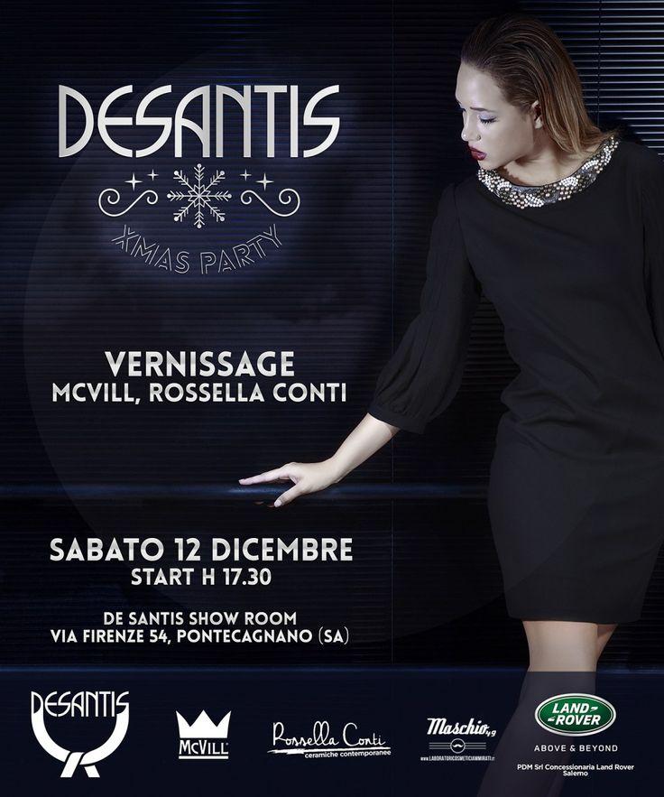 Un party natalizio, un'esposizione di opere d'arte della collezione 2016 De Santis, il Xmas party che si terrà a Pontecagnano(in Via Firenze 54) sarà un percorso alla scoperta dell'eccellenza, un …