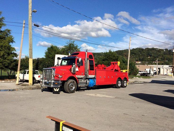 Jamie davis 39 s 2 new tow trucks almost ready to leave the for Jamie davis motor truck