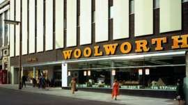 Woolworths, Barnsley store, South Yorkshire, 1970s. I used to shop here in while at college...