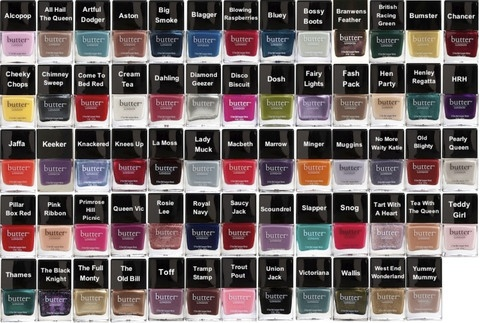 Butter London is great quality and make awesome colors. ~The Veganista Foodie