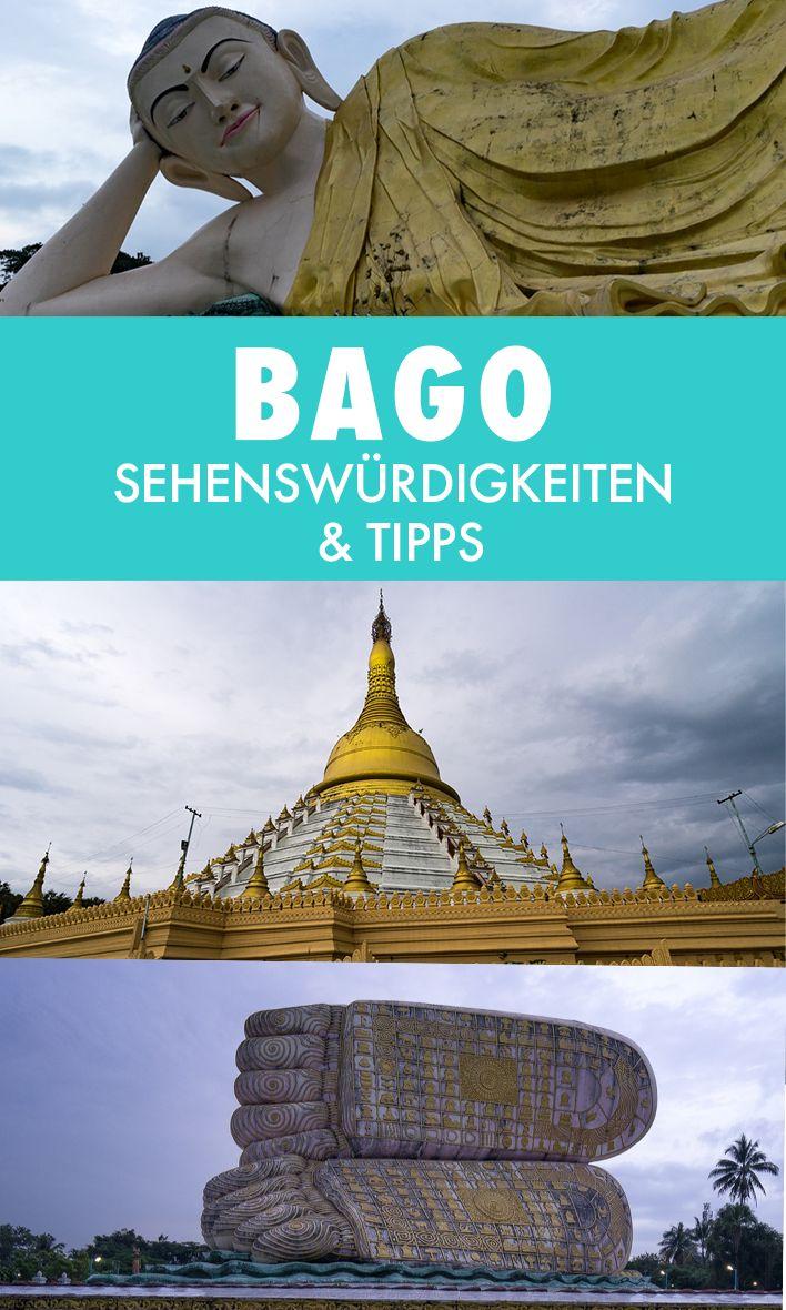 Bago wird von vielen Myanmar-Reisenden links liegen gelassen. Was für ein Fehler! Wir zeigen dir, was es in Bago alles zu sehen gibt.
