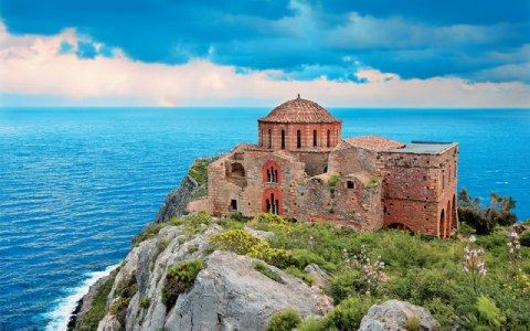 Agia Sofia in Ano Poli, Monemvasia-Greece