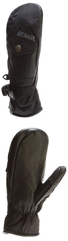 Gloves and Mittens 62172: Grenade Sub-Zero Ski Snowboard Mitts Black -> BUY IT NOW ONLY: $33.55 on eBay!