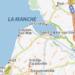 Carte détaillée Cayeux-sur-Mer - plan Cayeux-sur-Mer - ViaMichelin