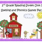 What a fun and engaging way to practice the spelling and phonics patterns from Reading Street Basal Series Unit 5! This pack includes 5 games that ...