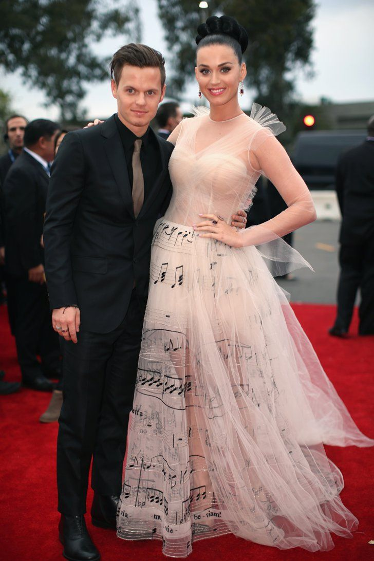 Pin for Later: Celebrity Siblings You Probably Didn't Know About Katy Perry and David Hudson Katy Perry's brother David Hudson is also a musician, and he walked the red carpet with his famous family member at the Grammys in 2014.