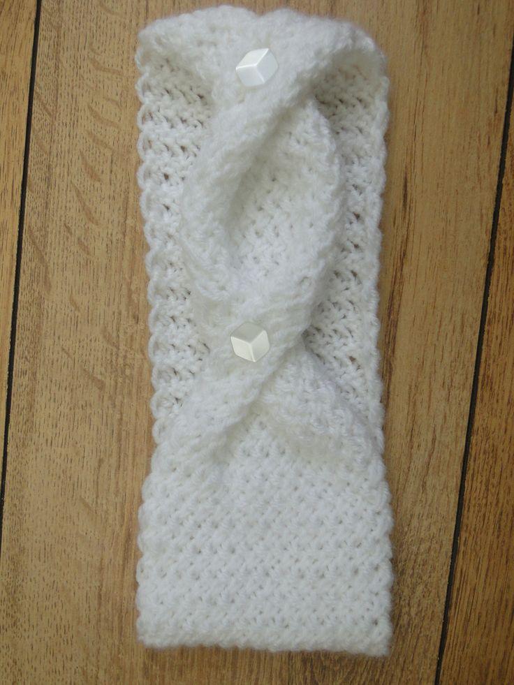 Fashionably Twisted Knit Headband