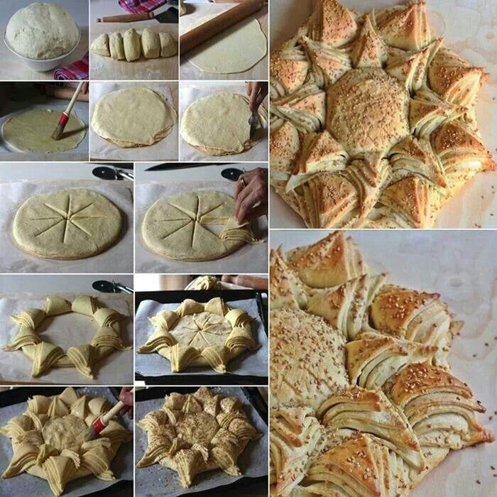 Sun Bread winter solstice