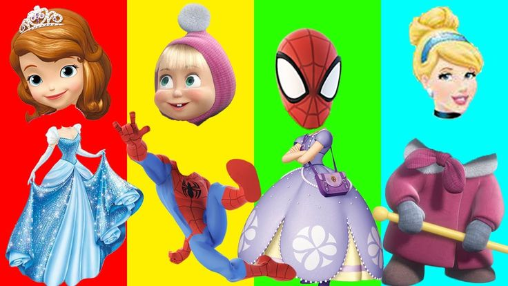 Wrong Heads Princess Cinderella Masha Spiderman Princess Sofia Finger Family Learn Colors for Kids Wrong Heads Princess Cinderella Masha Spiderman Princess Sofia Finger Family Song Learn Colors for Kids https://youtu.be/LmMdQCpHd1w Subscribe for more Colorful Video: https://www.youtube.com/channel/UCbSuTlWs4hQSmiQb7i3MmGA?sub_confirmation=1 Learn Colors with Animal an Toilet Poop BEARDED BABY CRYING Finger Family Nursery Rhymes…