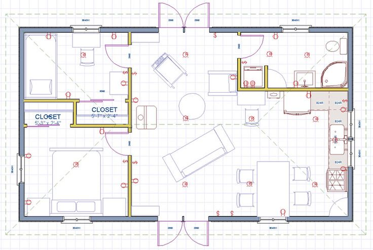 117 best images about floor plans 2 on pinterest for Dogtrot house plans modern