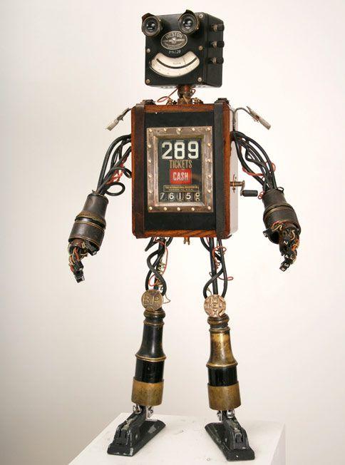Mike Rivamontes robots