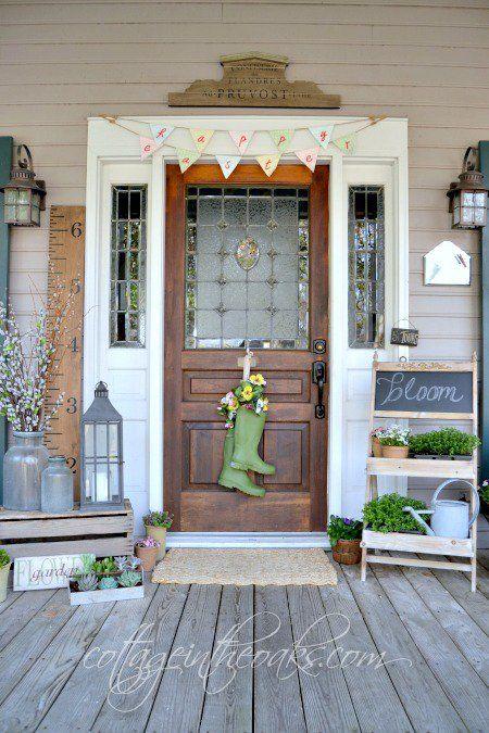 Decoraciones para la puerta de entrada entradas for Decoracion de la puerta de entrada