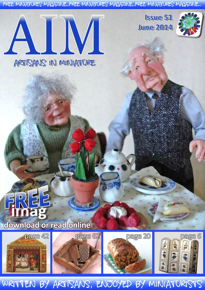 AIM imag Free Miniature Magazine download or read online.