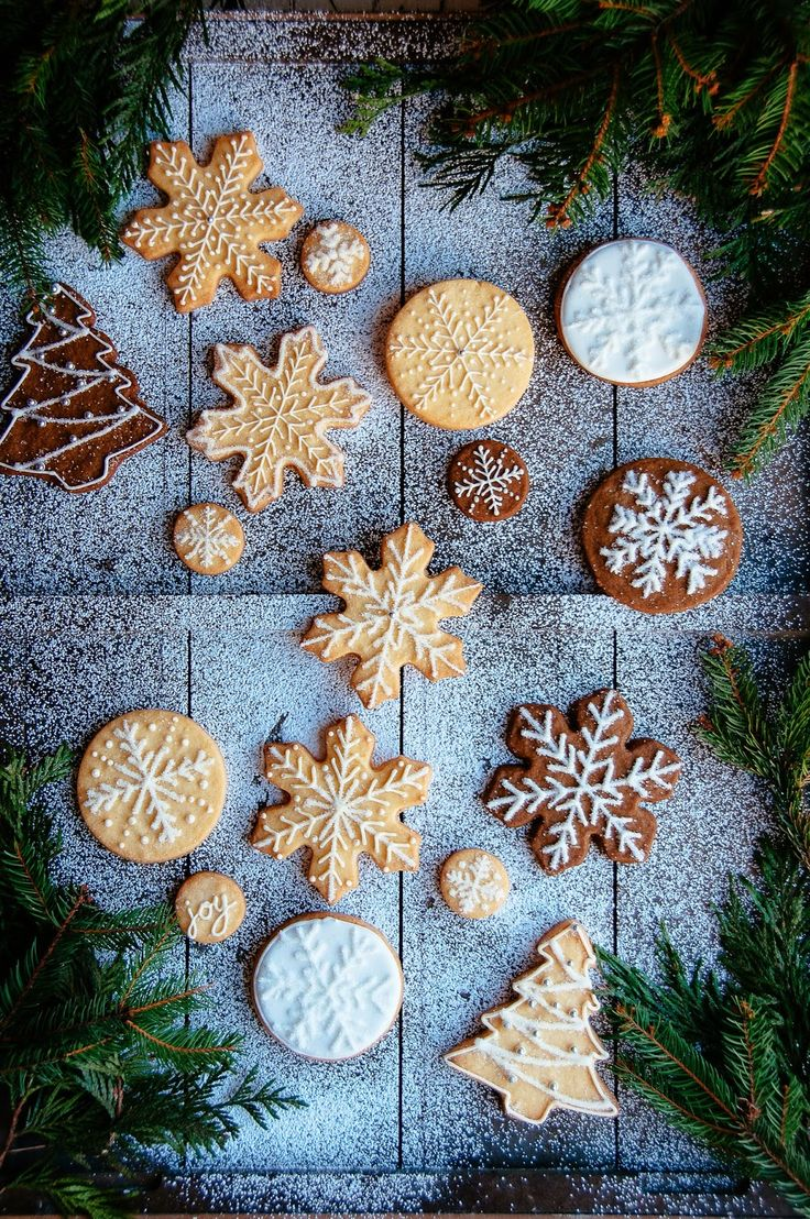 Christmas Gingerbread and Sugar Cookies | Hint of Vanilla - I might not be able to pull this off, but it would be worth a try!