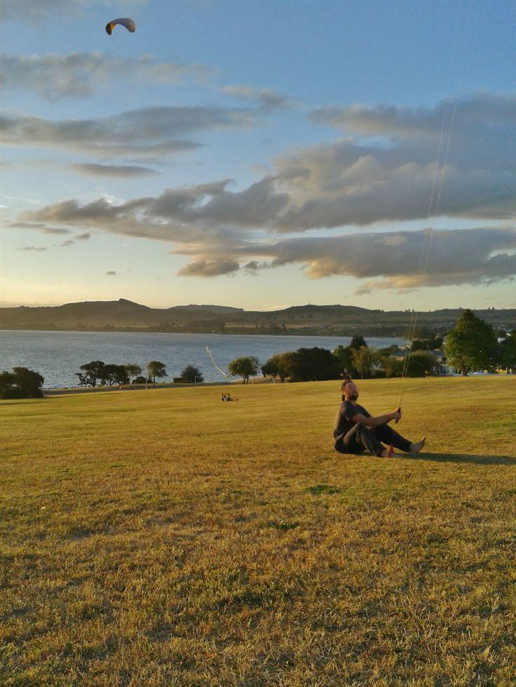 Lake Taupo #kites