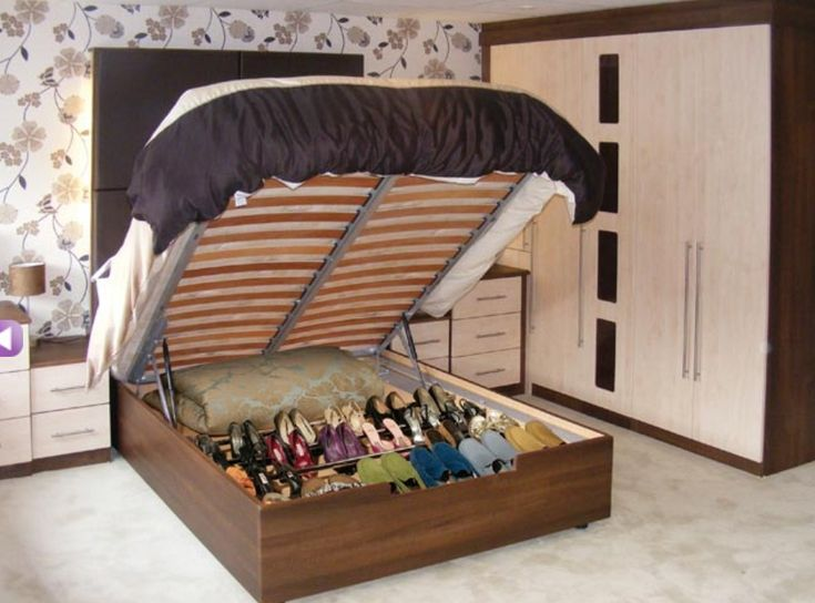 we need this hinged bed frame with shoe storage - Storage Bed Frames
