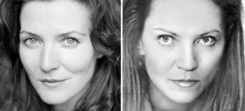 Michelle Fairley and Joan Allen | Lookalikes | Michelle ...