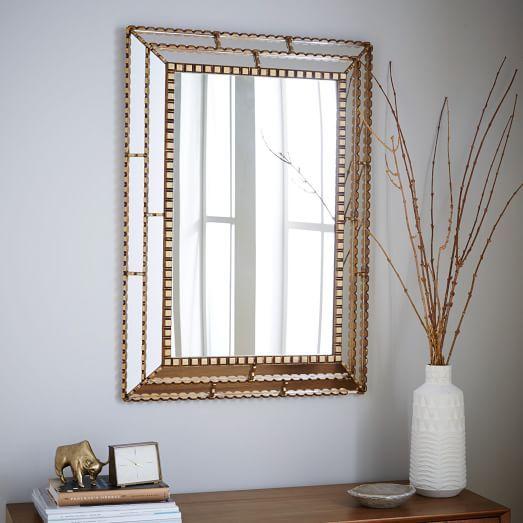 Peruvian Artisan Mirror Large Rectangle West Elm