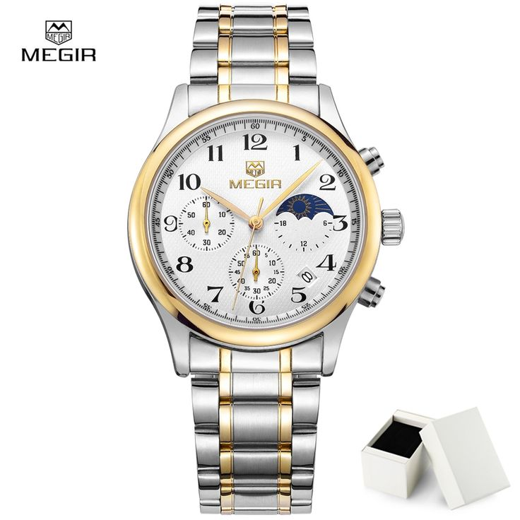 23.70$ Watch now - New Version Megir 5007 Fashion Watch Man ...