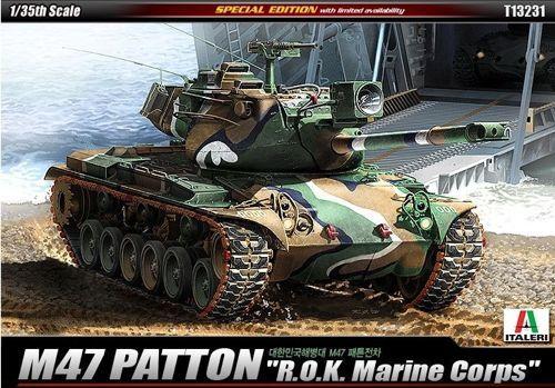 M47 Patton, South Korea Marine Corps. Academy, 1/35, injection, No.13231. Price: 26,09 GBP.