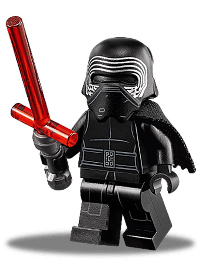make Kylo Ren™ and other Lego star wars stuff