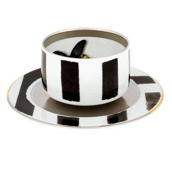 Christian Lacroix - Sol Y Sombra Tea Cup & Saucer