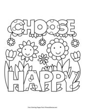 Positive Messages Coloring Pages • FREE Printable PDF from ...