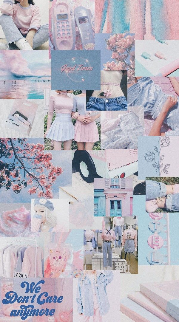 Aesthetic Wallpaper Aesthetic Pink And Blue Background Sigila