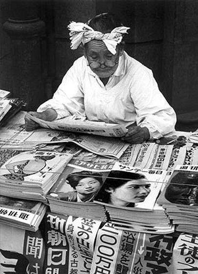 Toni Schneiders - Ginza, Tokyo, 1950.