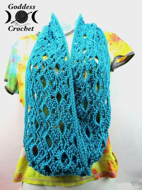 Free Crochet Pattern For Lightweight Scarf : 1000+ ideas about Infinity Scarfs on Pinterest Scarfs ...
