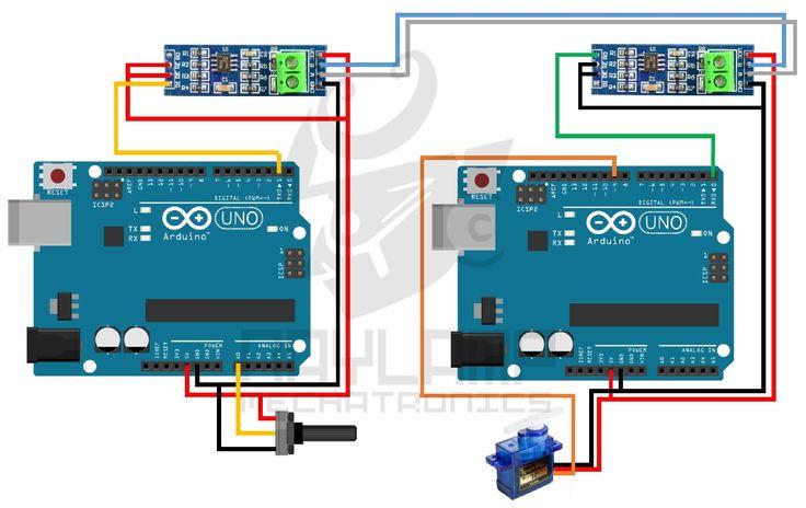 Arduino RS485 simplex o unidereccional