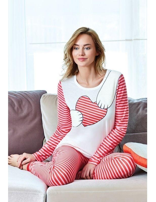 Eros ESK 9340 Bayan Pijama Takım #markhacom #ÇizgiliKalpliPijamaTakım #Kalpli #Kalp #YeniYılHediyesi #YeniYılPijamaTakım #YılBaşı #YılBaşıPijamaTakım #YeniYıl  #YeniYılHediyesi #NewYears #Yılbaşı #BayanPijama #BayanGiyim #YeniSezon #Moda #Fashion #Kırmızı #Beyaz #KışTemalı