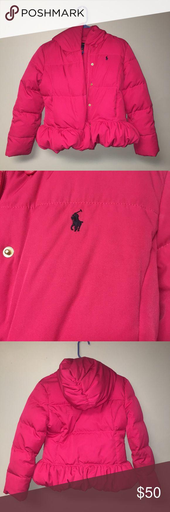 Ralph Lauren Polo Jacket Fuchsia Ralph Lauren Polo Jacket For Girls Ralph Lauren Jackets & Coats Puffers