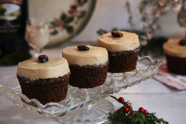 Cupcakes med Baileys-creme