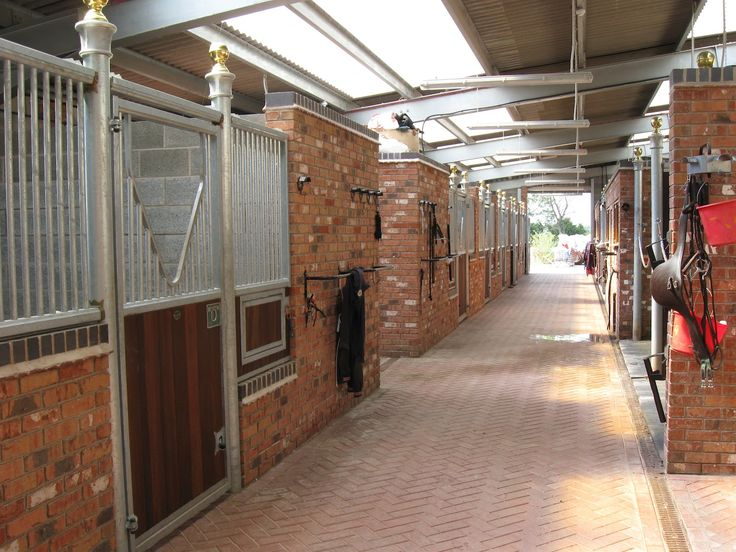 Stable Yards | The Beautiful Stable Yard Provides His Horses Every Luxury  When They .