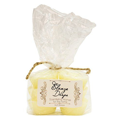 Soft Breeze Elanze Scented Candle Wax Drops in Gift Bag - 6 pack