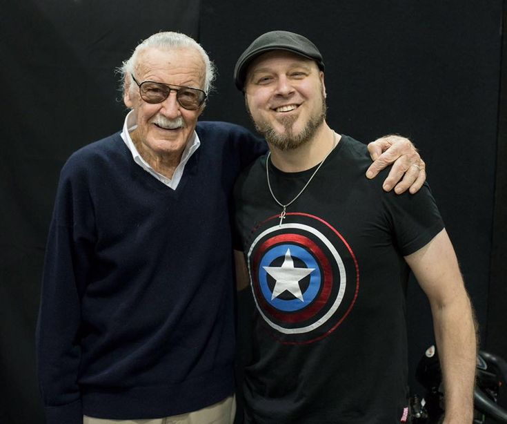 Tom Taylor + TheReal StanLee!- W.B.