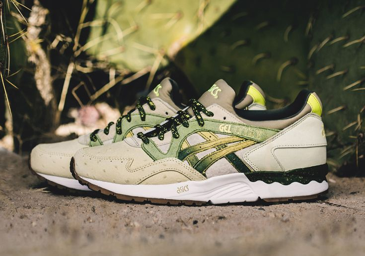 Feature Of Las Vegas Designs The ASICS GEL-Lyte V Inspired By The Prickly  Pear Cactus